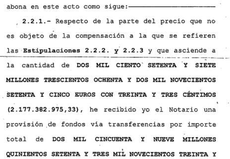 Captura escriptura compra-venda Banc de Santander sep 2014